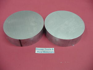 2 Pieces 6 1 4 Aluminum 6061 Round Rod 1 25 Long T651 6 25 Od Lathe Bar Stock