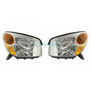 New 2004 2005 Fits Toyota Rav4 Left Right Side Headlight To2519103 To2518103