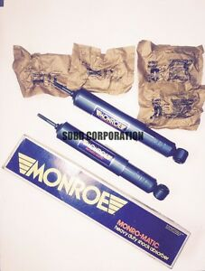 1967 1971 Ford Thunderbird Rear Monro matic Oil Filled Shock Absorbers 1 Pair