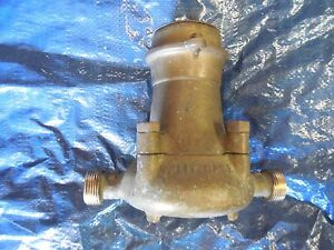 Neptune Meter Bronze Body Trident Old Stock Flow Meter