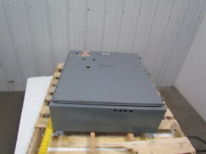Saginaw Control Ag551388 Type 12 33x30 5x10 Electricpanel Enclosure Cabinet