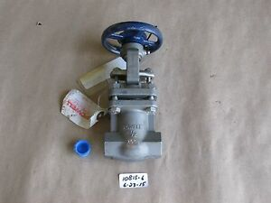 New Powell 1 2 300 Threaded Gate Valve Fig 2466 Cf3m