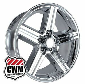 18 Inch 18x8 Iroc Z Chrome Oe Replica Wheels Rims For Chevy Monte Carlo 82 88