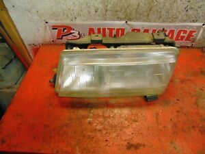98 97 93 94 95 96 Saab 9000 Oem Drivers Side Left Headlight Head Lamp Assembly