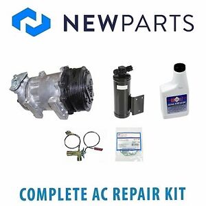 For Jeep Wrangler 1994 1995 New Ac A c Repair Kit W Compressor