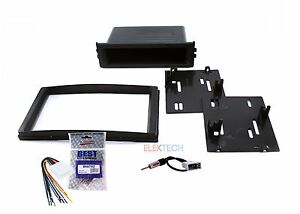 Radio Replacement Dash Mount Kit 1 Or 2 Din W Harness Antenna For Subaru