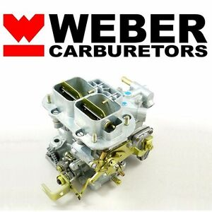 32 36 Dgv Progressive Carb Genuine Weber Carburetor W Manual Choke