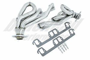 Manzo Performance Stainless Steel Headers 1994 2003 Dodge Dakota 5 2l 5 9l V8