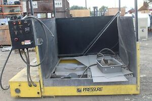 Pressure Island 6x6ft Pressure Washer Station