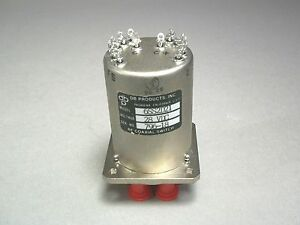 Db Products 6ss2d21 Rf Coaxial Switch 28 Vdc New
