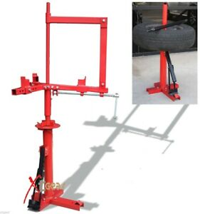 2 In 1 Auto Car Tire Changer With Motorcycle Attachment Atv Wheel Demount New