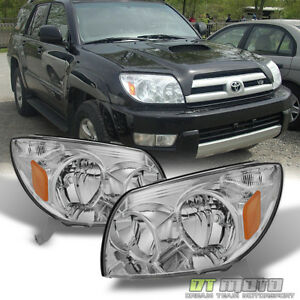 For 2003 2004 2005 Toyota 4runner Replacement Headlights Lamps Left Right 03 05