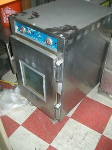 Alto Sham 1 3 Size Cook And Hold Oven 115v Casters S s 900 Items On E Bay