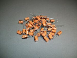 Lot Of 100 Vishay Sprague 503d Capacitor 68 Uf 16 V Craft Jewelry New
