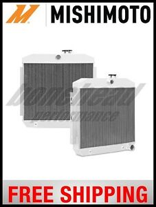 Mishimoto Performance 3 Row Aluminum Radiator 1955 1957 Chevrolet Bel Air