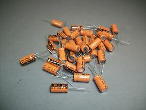 Lot Of 100 Vishay Sprague 503d Capacitor 470 Uf 6 3 V Craft Jewelry New