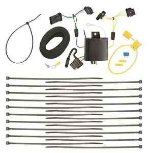 Trailer Wiring Harness Kit For 15 18 Jeep Renegade All Styles