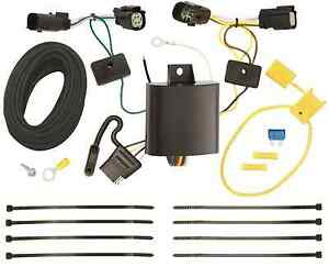 Trailer Wiring Harness Kit For 15 19 Ford Transit 150 250 350 Plug