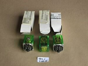 Lot Of 3 New Nib Autotron P 200 8 pin Photo Electric Relay