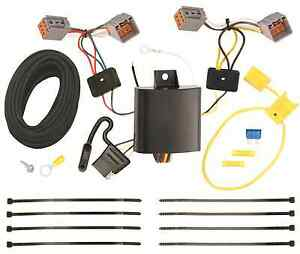 Trailer Wiring Harness Kit For 14 20 Ford Transit Connect All Styles Plug