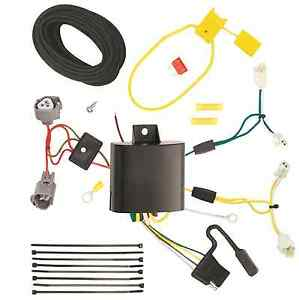 Trailer Tow Wiring Harness Kit For 14 17 Mazda 6 Sedan Plug Play T one New