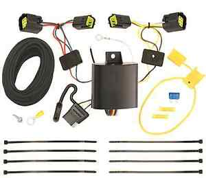 Trailer Wiring Harness Kit For 10 13 Ford Transit Connect All Styles Plug