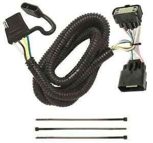Trailer Wiring Harness Kit For 11 19 Ford Explorer All Styles Plug