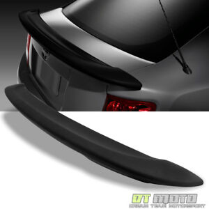 2011 2015 2016 Scion Tc Trunk Factory Style Spoiler Wing Primered Matt Black
