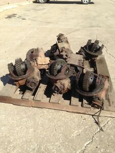 M35 Military 2 5 Ton Rockwell Timken Detroit Axle Differential 6 72 Ratio Used