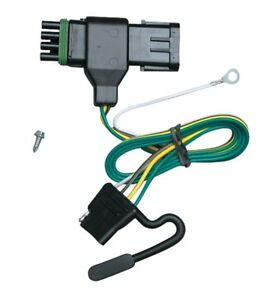 Trailer Wiring Harness For 88 00 Gmc C k 1500 2500 3500 except 88 91 Crew Cab