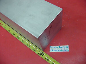 4 X 4 Aluminum 6061 Square Solid Bar 24 Long T6511 Flat New Mill Stock