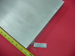 1 2 X 10 X 11 Aluminum 6061 Flat Bar Solid T6511 New Mill Stock Plate 500