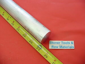 1 1 2 Aluminum 6061 Round Rod 24 Long T6511 Solid Extruded Lathe Bar Stock New