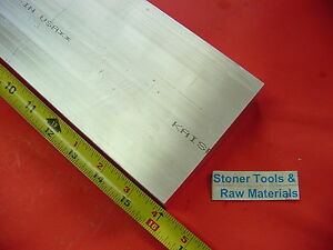 2 X 4 Aluminum 6061 Flat Bar 16 Long Solids T6511 2 00 Plate New Mill Stock