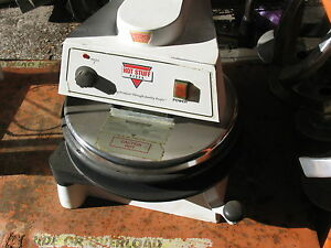 Doughpro Dp1100 18 Manual Operation Heated Pizza Dough Press Model Dp 1100