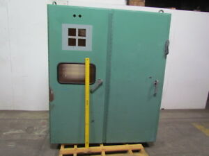 Electrical Enclosure 61w 17d 72tall W 100 Amp Disconnect Panel