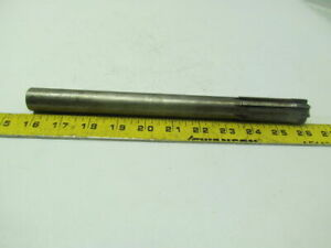 1 0030 Carbide Tipped Straight 8 Flute Chucking Reamer