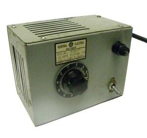 General Electric 9t92a90 Volt pac Variable Transformer