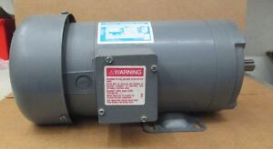 Boston Gear Dc Motor 1 Hp Rpm 1750