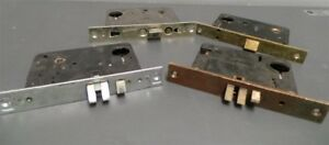 Sargent Corbin Mortise Lock Bodies Commercial Grade Vintage Lot Of 4