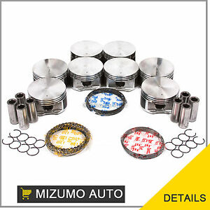 Fit Pistons And Rings 99 07 Dodge Chrysler Jeep Mitsubishi 4 7l Sohc V8 Vin N