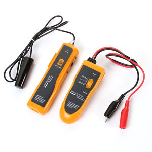 Underground Wire Locator Tracker Rj11 Rj45 Network Lan Cable Tester W Earphone