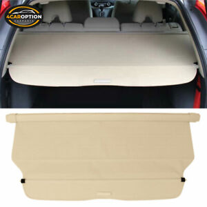 Fits 12 16 Honda Crv Oe Style Retractable Beige Rear Cargo Security Trunk Cover