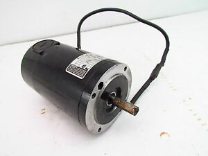Bodine Dc Motor Windpower Generator Used Tested 42y5bepm 90 Volts 1 10hp 1725rpm