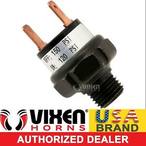 120 150 Psi Air Pressure Control Switch Valve F horn Compressor Tank 12v Vxa7150