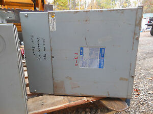 Ge Electrical Transformer 1 Phase Cat 9t21b9104 25kva 240 480 120 240 Warranty