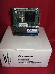 Kontron 800 686 Pc 104 Board W tri m Engineering Tmd104 e000 32mb New