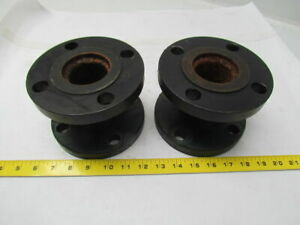 Weldbend 2 150 2 x2 Flanged Conector Steel Lot Of 2
