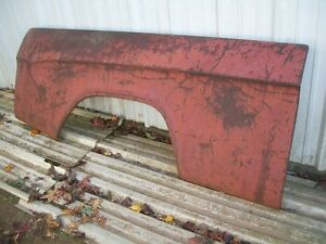 Nos Mopar 1961 1971 Dodge Sweptline Truck Right Bed Side Panel Shortbed