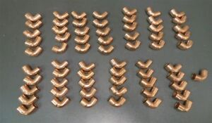 Elkhart 1 2 Elbow Close Ruff Solder Joint Copper 107 c2 Lot Of 66 New